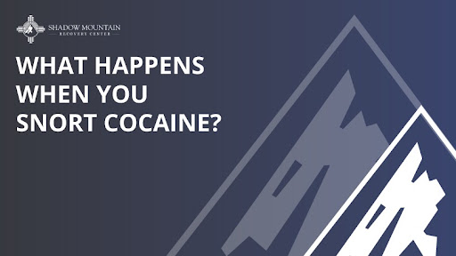 what happens when you snort cocaine